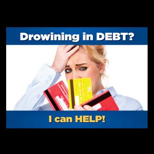 Debt Postcard