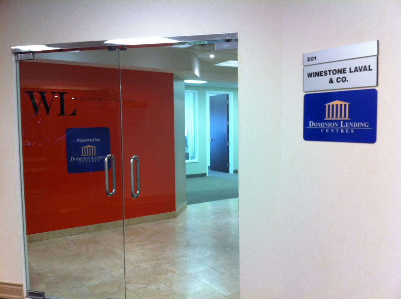 Foyer Signage