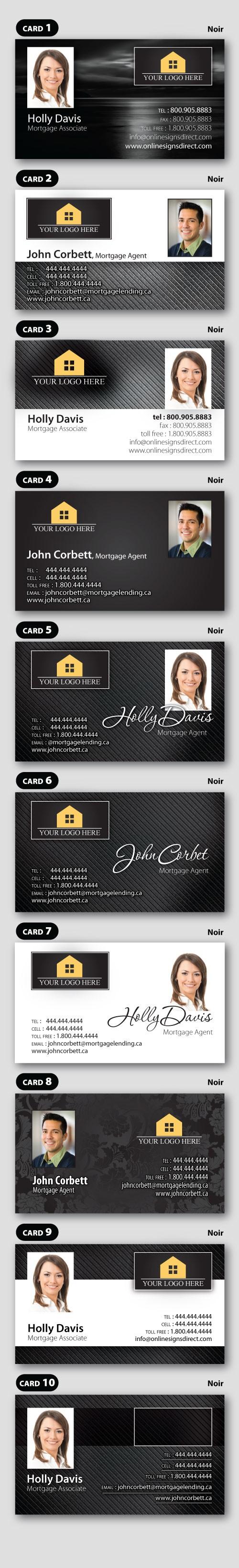 Noir Business Card
