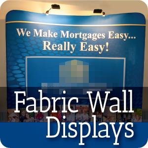 Fabric Wall Display
